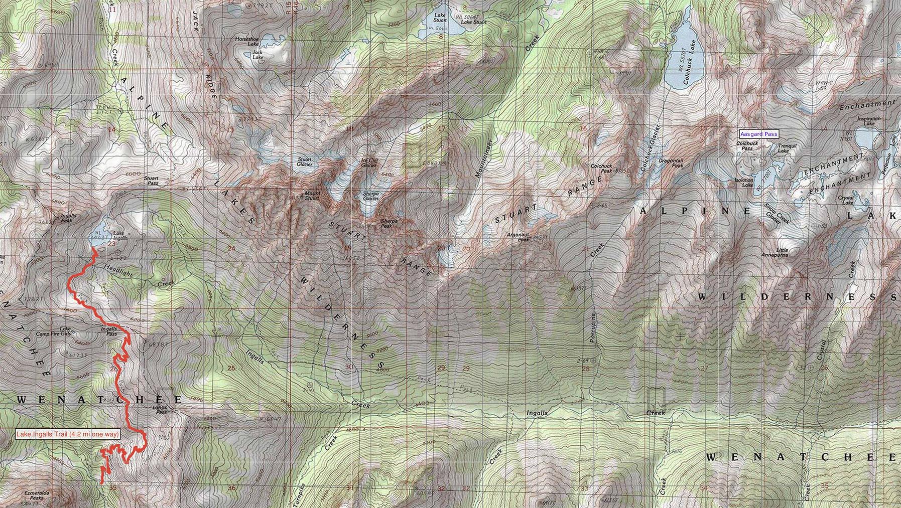 October 2015: Ingalls Lake | Turncarver | Tom Demshki